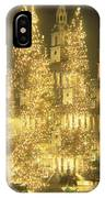 Trafalgar Square Christmas Lights IPhone Case
