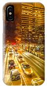 Traffic In A Big City IPhone Case