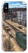 Traffic On Lincoln Street IPhone Case