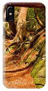 Trail In A Forest, Muskoka, Ontario IPhone Case