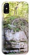 Trail Through The Rocks Wildcat Den State Park IPhone Case