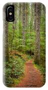 trail to Lower Lewis Falls IPhone Case