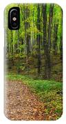 Trail To Miners Falls IPhone Case