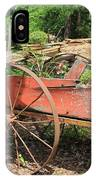Trailer Flowerbed IPhone Case