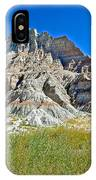 Trailhead For Saddle Pass Trail In Badlands National Park-south Dakota   IPhone Case