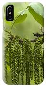 Trailing Green Draperies IPhone Case
