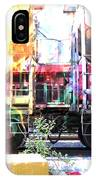 Train Abstract Blend 1 IPhone Case