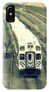 Train Approaching IPhone Case