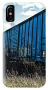 Train Boxcars IPhone Case