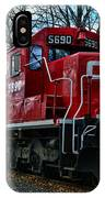 Train - Canadian Pacific 5690 IPhone Case