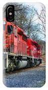 Train - Canadian Pacific Engine 5937 IPhone Case