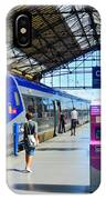 Train Station Marseille France IPhone Case