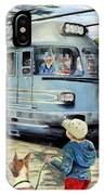 Train Stop At The Diner IPhone X Case