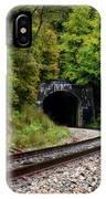 Train Tunnel IPhone Case