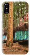 Train Wreck Canvas Among The Trees IPhone Case