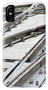 Tramway Track Construction IPhone Case