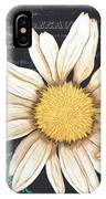Tranquil Daisy 2 IPhone Case