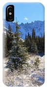 Tranquil Mountain Scene IPhone Case