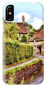 Tranquil Stream Lacock IPhone Case by Paul Gulliver