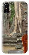 Tranquility In Angkor Wat Cambodia IPhone Case