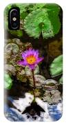 Tranquility - Lotus Flower Koi Pond By Sharon Cummings IPhone Case