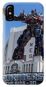 Transformers The Ride 3d Universal Studios IPhone Case