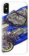 Transparent Car Concept Made In 3d Graphics 1 IPhone Case