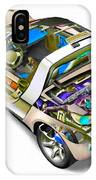 Transparent Car Concept Made In 3d Graphics 2 IPhone Case