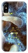 Transparent Shrimp On Anemone. IPhone Case