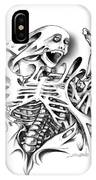 Trapped Skeleton By Spano IPhone Case