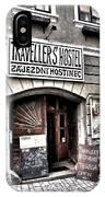 Travellers Hostel - Cesky Krumlov IPhone Case