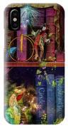 Fairytake Treasure Hunt Book Shelf Variant 4 IPhone Case