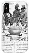 Treaty Of Paris Cartoon IPhone Case