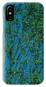 Tree Abstract Blue Green IPhone Case