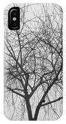 Tree Abstract In Black And White IPhone Case