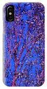 Tree Abstract Purple Blue  IPhone Case