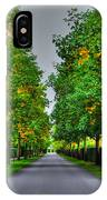 Tree Alley IPhone Case