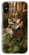 Tree And Buck IPhone Case