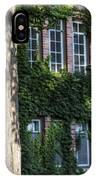 Tree And Ivy Windows Michigan State University IPhone Case