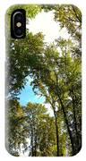 Tree Arches At Clackamette Park IPhone Case