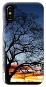 Tree At Sunrise IPhone Case