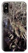 Tree Roots At The River IPhone Case