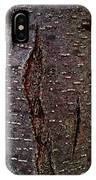 Tree Bark To The Left IPhone Case
