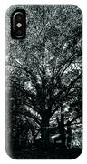 Tree Black And White IPhone Case