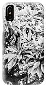 Tree Bush Vignette IPhone X Case