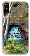 Tree By The Brook IPhone Case