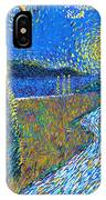Tree By The Road IPhone Case