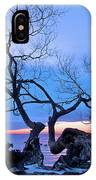 Tree Hanging Over Lake - Photographers Collection IPhone Case