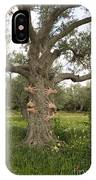 Tree Hugging Green Ecological Concept  IPhone Case