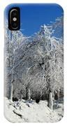 Tree Ice IPhone Case